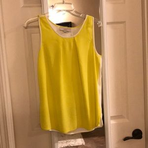 Bright Yellow sleeveless top
